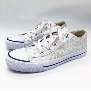 Airwalk Low Tops Iridescent Reptile Pearl  Shoes